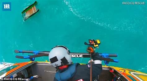 catamaran capsized australia american tourist rescued in australia after long night on