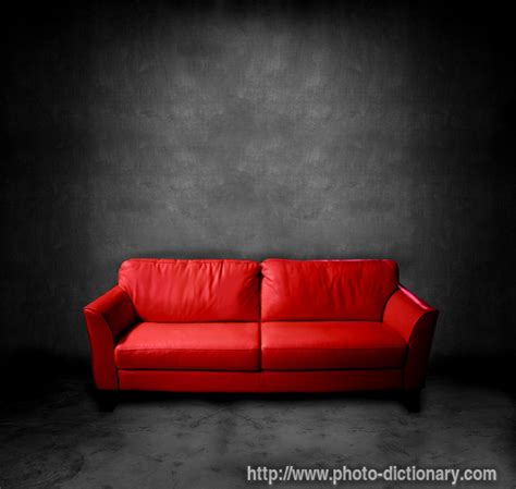 what is the meaning of sofa couch photo picture definition at photo dictionary