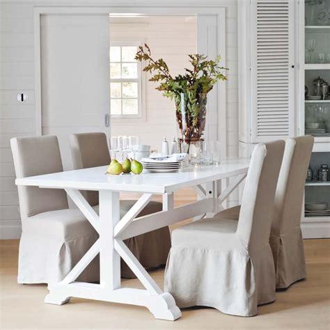 maison du monde tavoli da pranzo il tavolo in legno bianco una nota luminosa arredica
