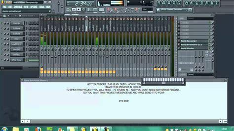 tutorial fl studio download dirty dutch house in fl studio 10 fruity loops tutorial