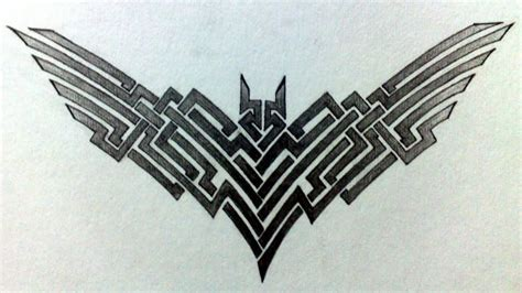 tribal batman tattoo tribal batman www pixshark images galleries with a