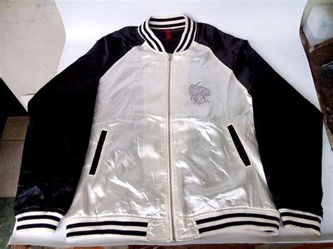 Jaket Marsmellow Hitam Nevy Putih jaket moonliners