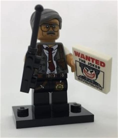 Lego Minifigures Series Batman Commissioner Gordon Minifigure lego batman commissioner gordon collectible minifigures series 17 for sale in galway city