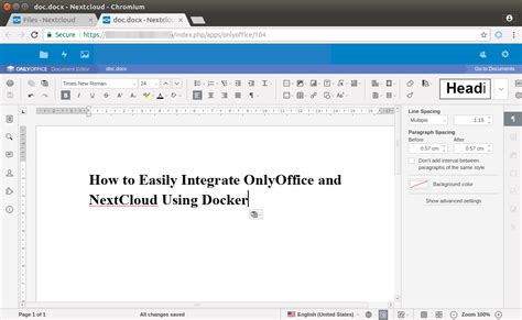 docker owncloud tutorial how to easily integrate onlyoffice and nextcloud using docker