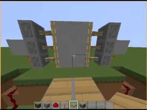 membuat rumah di minecraft cara membuat pintu otomatis di minecraft hocker youtube