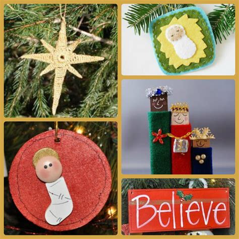 religious ornaments to make 25 religious decorating ideas allfreechristmascrafts