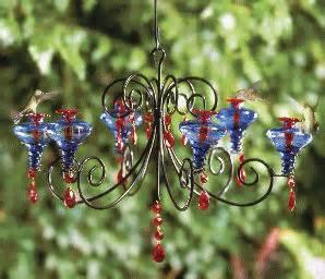chandelier hummingbird feeder schrodt decorative hummingbird feeders at birds forever