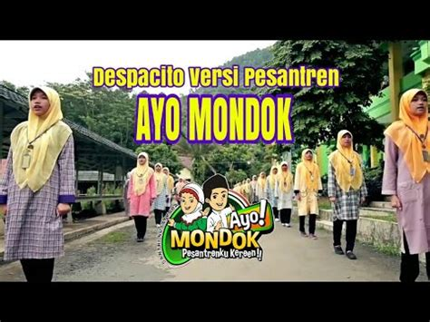 despacito santri ayo mondok despacito cover youtube