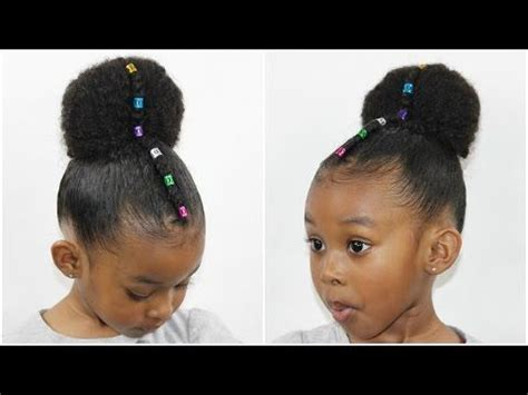 kids plaits kids natural hairstyles rubberband plaits and bun