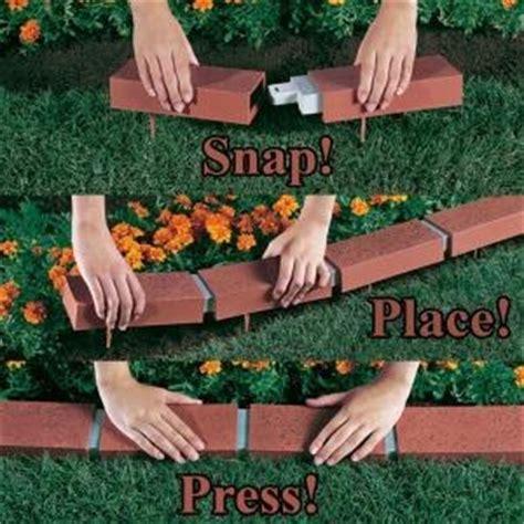 argee landscaping supplies  ft decorative plastic brick