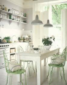 Mint Green Kitchen Curtains Decorating Cheap Home Decors Shabby Chic And Vintage Kitchens