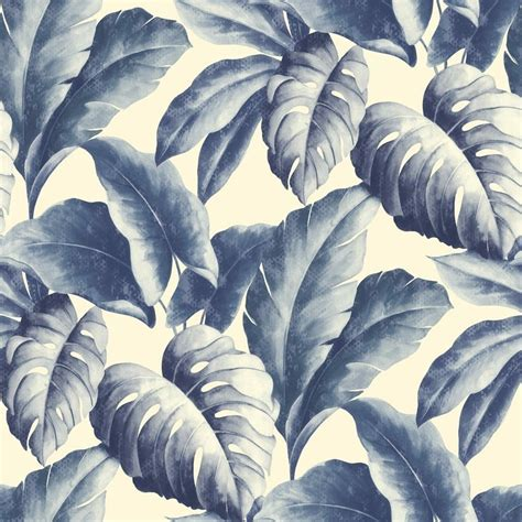 leaf pattern textured wallpaper grandeco botanical tropical leaves pattern wallpaper tree