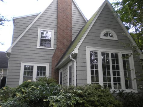 cedar shingles perfections cabot stain rockport gray