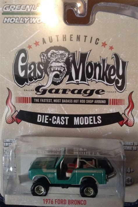 Greenlight Seri Gas Monkey Garage 1976 Ford Bronco greenlight gas monkey garage 1976 ford bronco