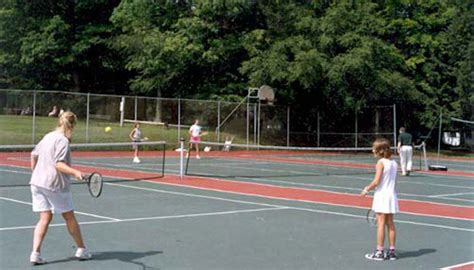 backyard tennis game outdoor facilities tennis 1 scotts family resort