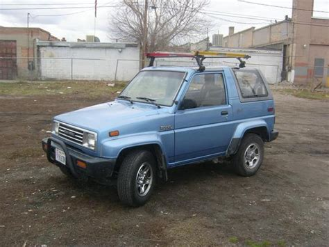 1992 daihatsu rocky tangwyn 1992 daihatsu rocky specs photos modification