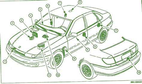 throttle position sensor saturn sl2 wiring diagrams