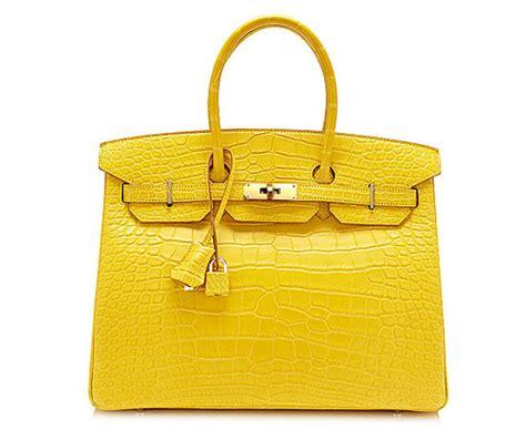 Hermes Bag Kayu Yellow aimas rakuten global market 35 35 hermes birkin mimosa alligator mat gold metal