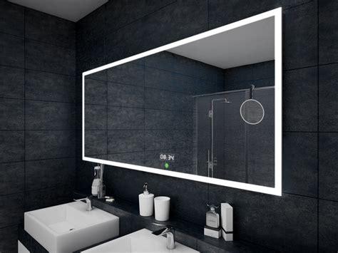 badspiegel led beleuchtung mit touch schalter