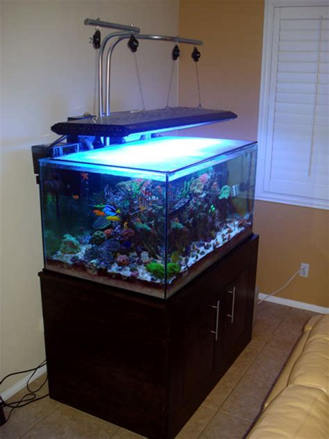 Diy Aquarium Light Fixture Diy An Inexpensive Light Hanger Kit Reefkeeping