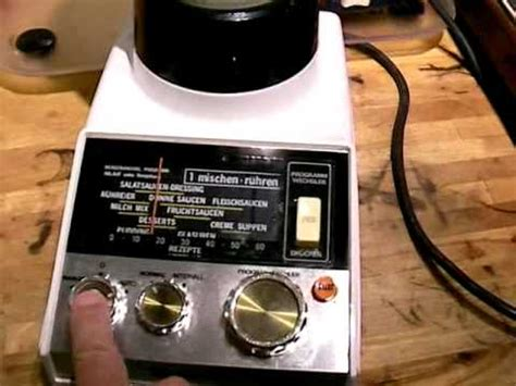 Mixer Nasional vintage national blender mixer mx 370n 1982 optisch wie