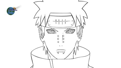 pain naruto coloring pages pain by ťңẹ m 227 ğ 205 ς 205 αή