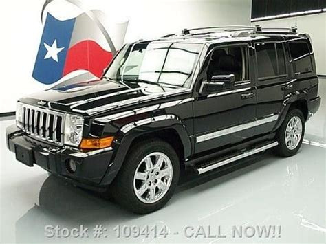 Jeep Commander Hemi Find Used 2010 Jeep Commander Ltd 4x4 Hemi 7 Pass Sunroof