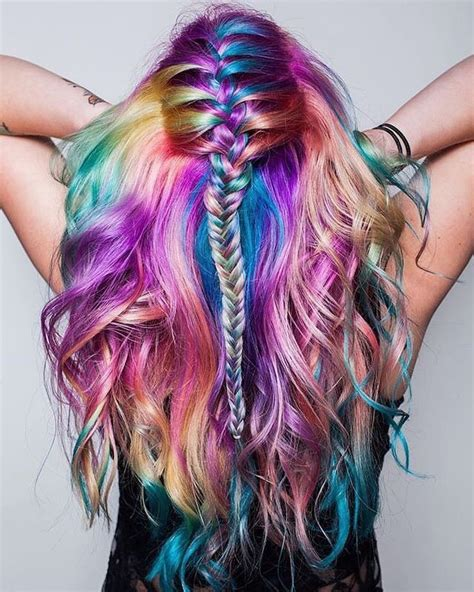 colorful hairstyles best 25 unicorn hair ideas only on unicorn