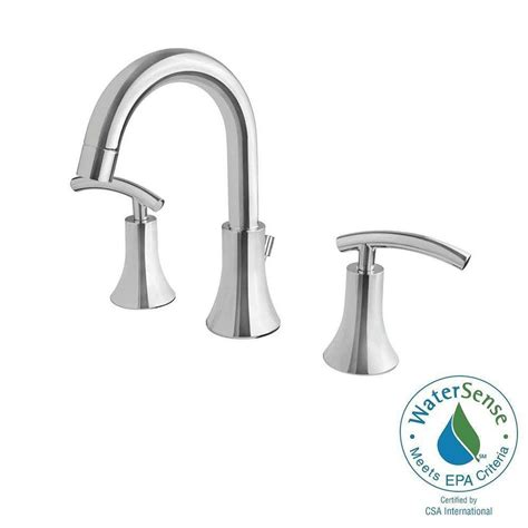 ultra faucets contemporary collection   widespread  handle bathroom faucet  chrome