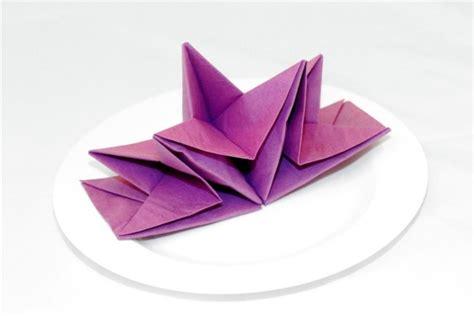 Folding Paper Napkins - paper napkin folding create festive