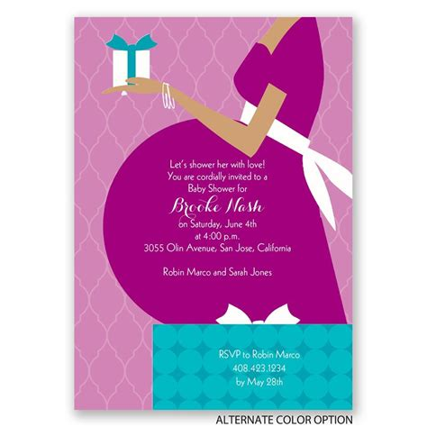 Baby Shower Invitaion by True Gift Baby Shower Invitation Invitations By