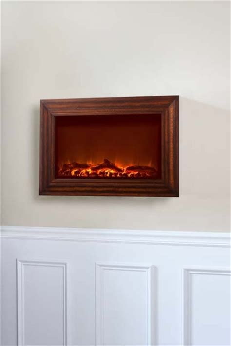 Fireplace Wood Frame sense wall mounted electric fireplace with heater and