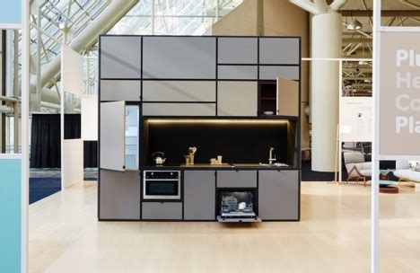 Mobile Island For Kitchen Home Room Plug And Play Modules Make Instant Living