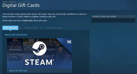 Steam 5 Gift Card - how to use digital gift cards on steam tech news log