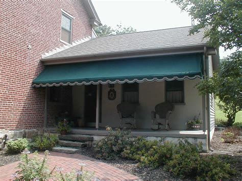Stationary Awning Porch Awning Kreider S Canvas Service Inc