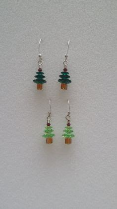christmas earrings adults craft ideas for adults to sell crafted earrings trees and snowmen sterling