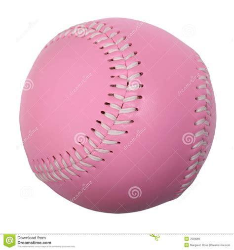 pink baseball stock photo image of equipment rawhide