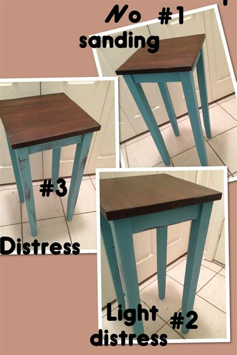 different ways to paint a table tall accent table 3 different ways painted with tiza chalk