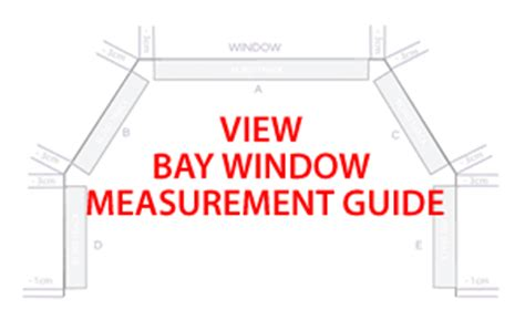 How To Measure For Bay Window Curtains measurement and fitting guides blinds direct