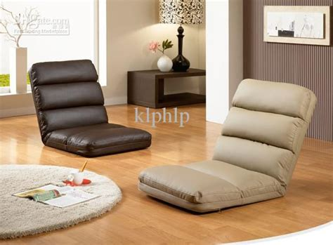 foldable floor seating chair 5 level of adjustable