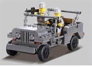Lego Army Jeep Ww2 Custom Lego Compatible Us Airborne Army Jeep Ky82007