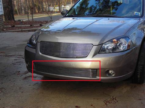 Nissan Altima 05 by Fit For 05 06 Nissan Altima Bumper Billet Grille Grill
