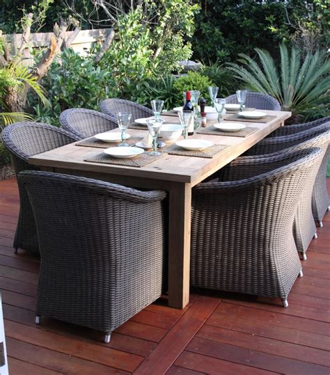 patio marvellous gray wicker furniture outdoor dining sets