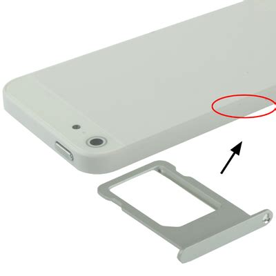With Holder Murah Iphone original sim card tray holder for iphone 5 silver jakartanotebook