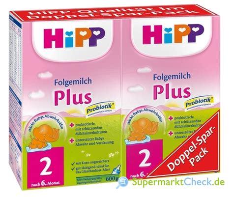 folgemilch 2 ab wann hipp 2 folgemilch doppel spar pack plus probiotik ab dem 6