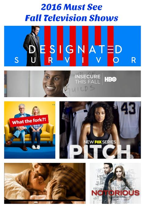 Must Tv Series For Mba by Must See Fall Television Shows 6 New Shows I Am Looking