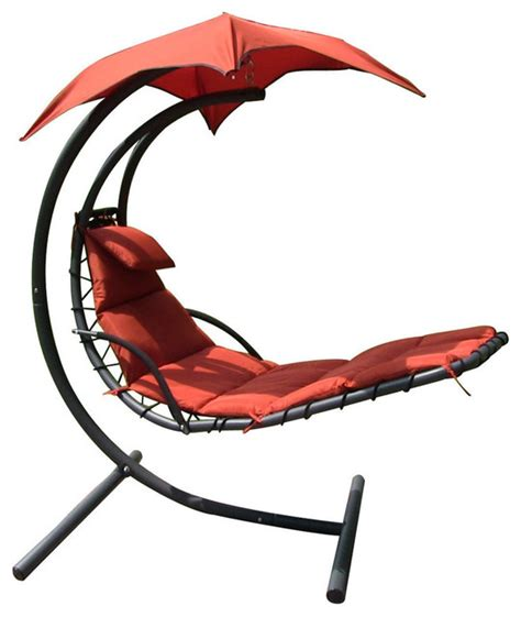 floating lounge chair with umbrella sunnydaze floating chaise lounger swing chair with canopy