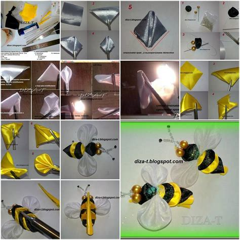Step By Step On How To Make A Paper Airplane - how to make clip bee step by step diy tutorial