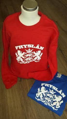 Sweater Fries sweater trui rood frysl 226 n friese producten nl