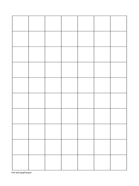 printable graph paper 1 inch search results for printable one inch graph paper